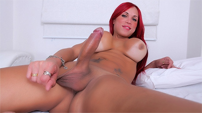 Ericka Scwinaider And Her Stiff Pink Cock